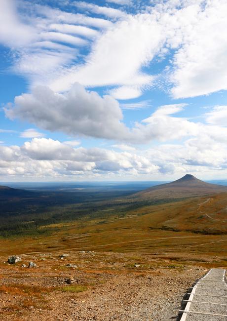 Uitzicht vanaf de Nipfjallet