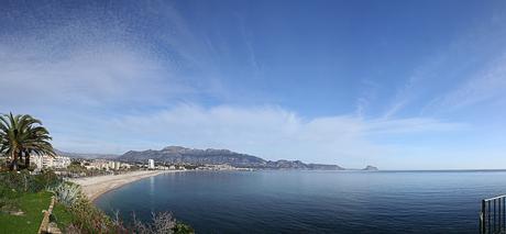 Costa Blanca. Calpe in de verte.