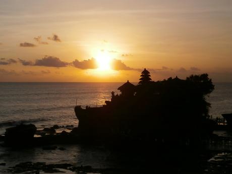 Sunset Tanah Lot - Bali