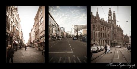 Antwerpen, Rotterdam en Amsterdam