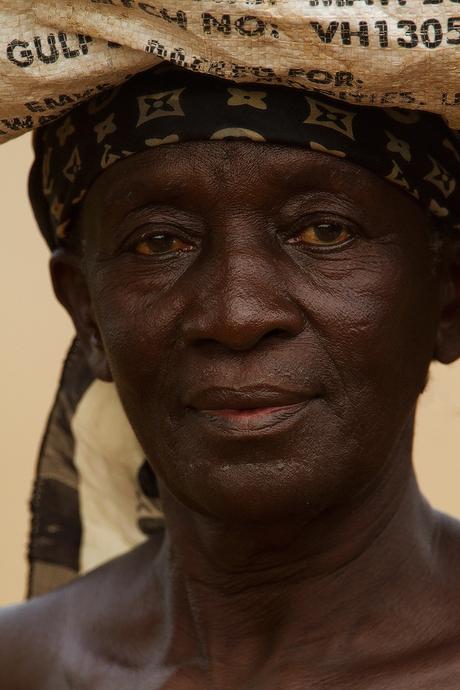Ghanees vrouw
