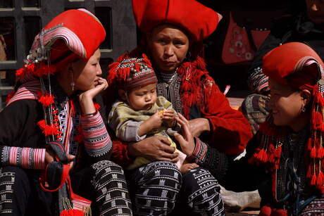 Kleurrijk inheems