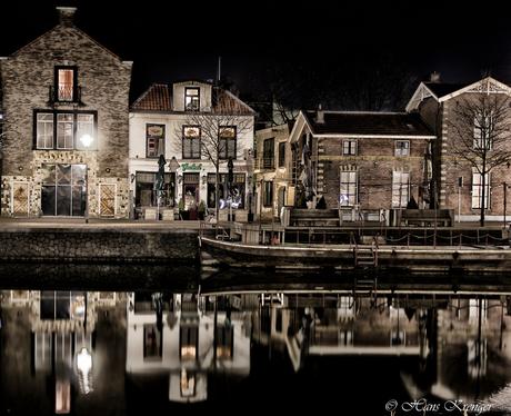 De oude haven Apeldoorns kanaal te Apeldoorn
