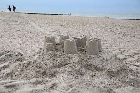 dorpje van zand