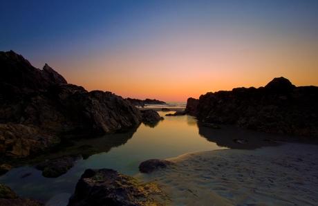 Zonsondergang in Bretagne 2 update