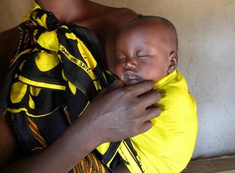 Baby in Tanzania