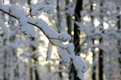 Als sneeuw voor de zon.