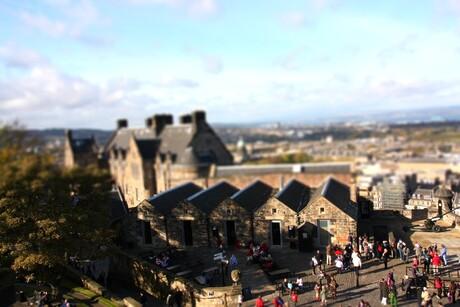 kasteel van Edinburgh - Schotland
