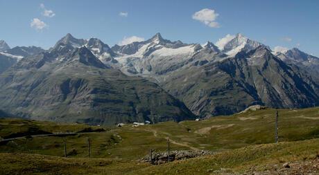 wandeling van gornergrat naar zermatt