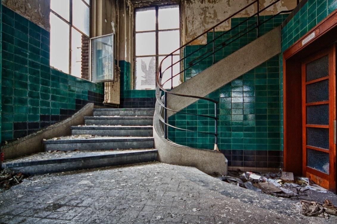 Universiteit - - - foto door ceesdv op 25-02-2015 - deze foto bevat: verlaten, vervallen, urbex, urban exploring