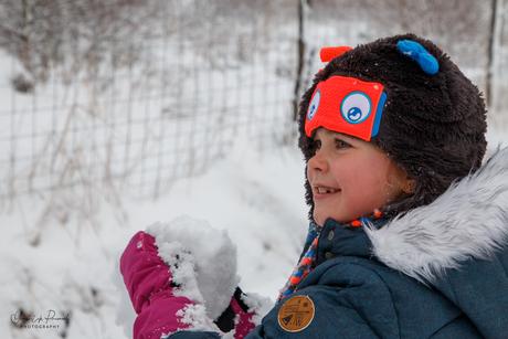 Die sneeuwbal is voor jou!