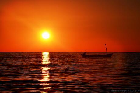 'Zonsondergang'