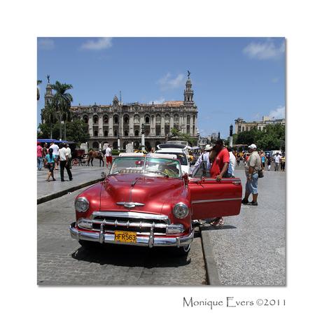 Straatbeeld Havana Cuba 2