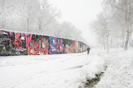 Colours in a white world