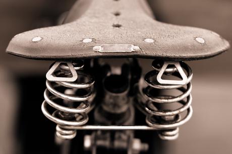 Het fietszadel...