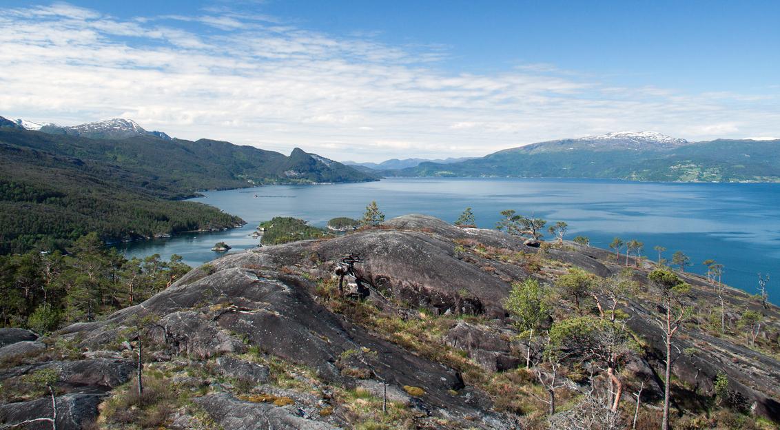 Noorwegen (3) - Noorwegen, juni 2013 - foto door hillegonda op 24-08-2013 - deze foto bevat: lucht, blauw, water, landschap, noorwegen
