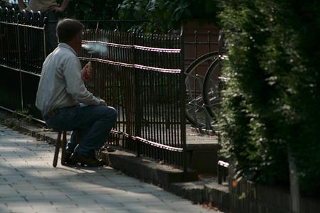 Hek' werk' - - - foto door mousfotografie op 30-08-2009 - deze foto bevat: hekwerk