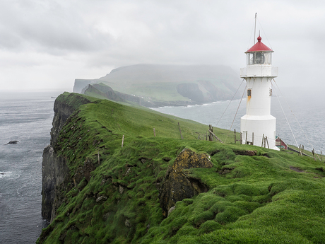 Lighthouse on Mykines