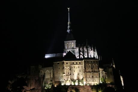 Mont michel (Nacht)
