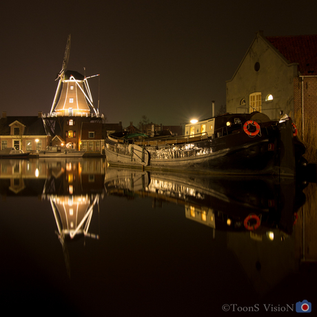 Molen aan de haven