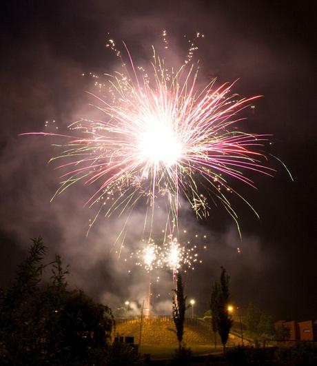 Vuurwerk Bergschenhoek (1)