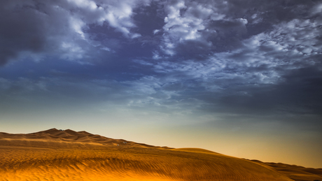 Woestijn van Dubai