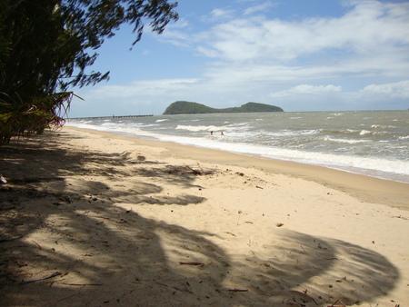 Palmcove, Australie - Double Island at Palmcove,Australie - foto door Hugie op 22-06-2015 - deze foto bevat: beach, australie, Double Island, palmcove