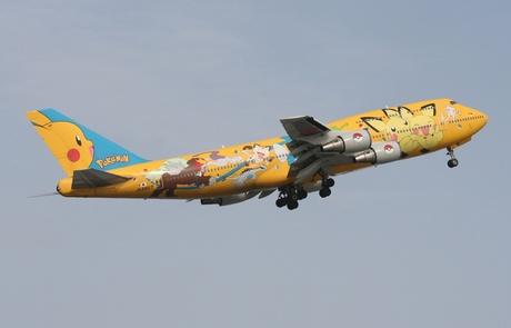 Pokemon Boeing 747