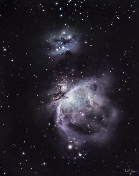 Orion nevel in het sterrenbeeld Orion