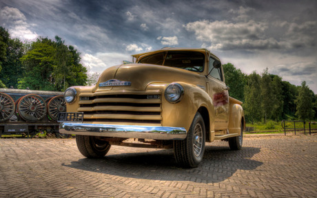 Oude Chevy HDR