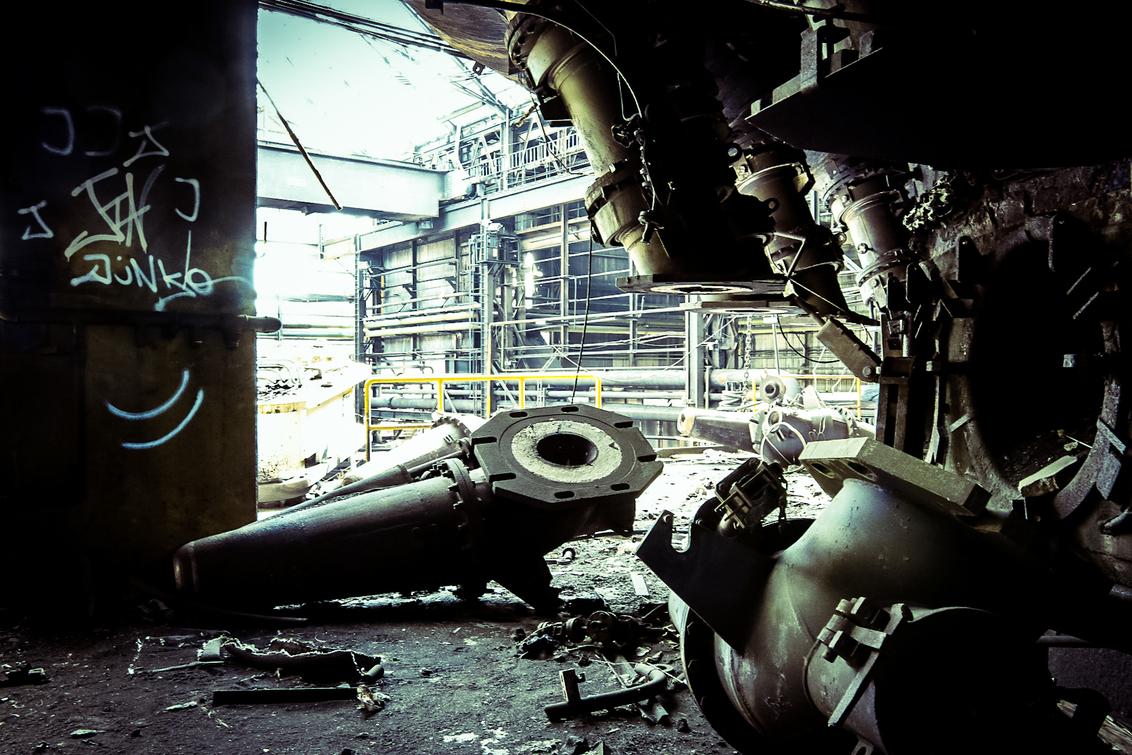 Urbex Liege 2020 - - - foto door ngolsteyn op 08-09-2020 - deze foto bevat: staal, luik, urbex, liege