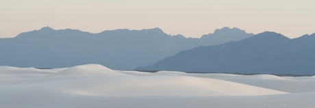 White Sands, New Mexico, US.