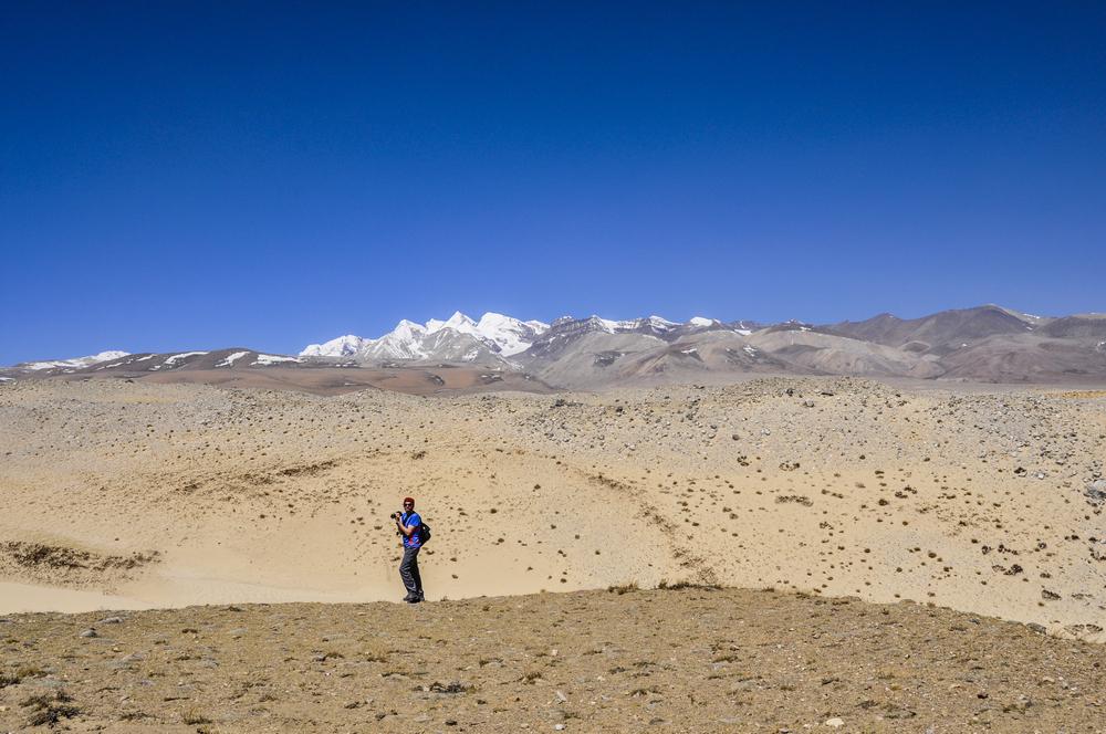 Tibetaanse hoogvlakte - - - foto door Meyer op 22-02-2017 - deze foto bevat: landschap, bergen