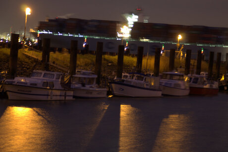 avond Haven fotografie