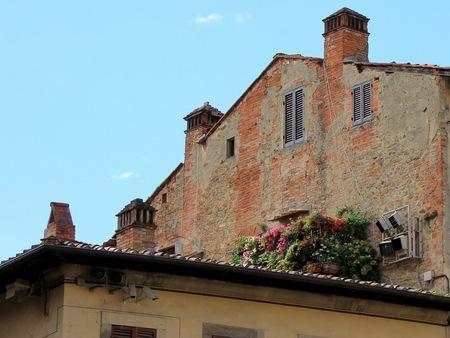Terras in Tuscany - Toscane. - foto door Derine op 21-09-2012 - deze foto bevat: toscane, arezzo, dakterras