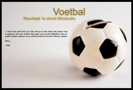 Voetbal Spaarpotje