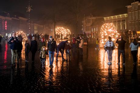 Leeuwarden on fire