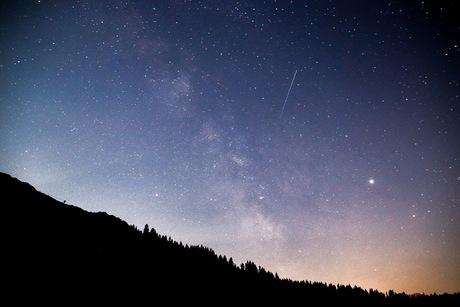 sterrenhemel in de zomer