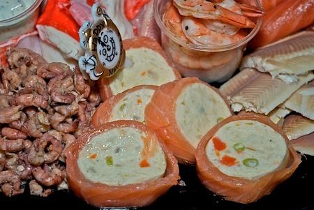 Visschotel - Lekker gegeten met de jaarwisseling. - foto door Henkes62 op 03-01-2011 - deze foto bevat: nieuwjaar, 2011
