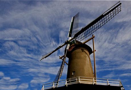 Wind draaie op Windmolen
