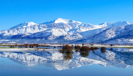Kretens winterlandschap