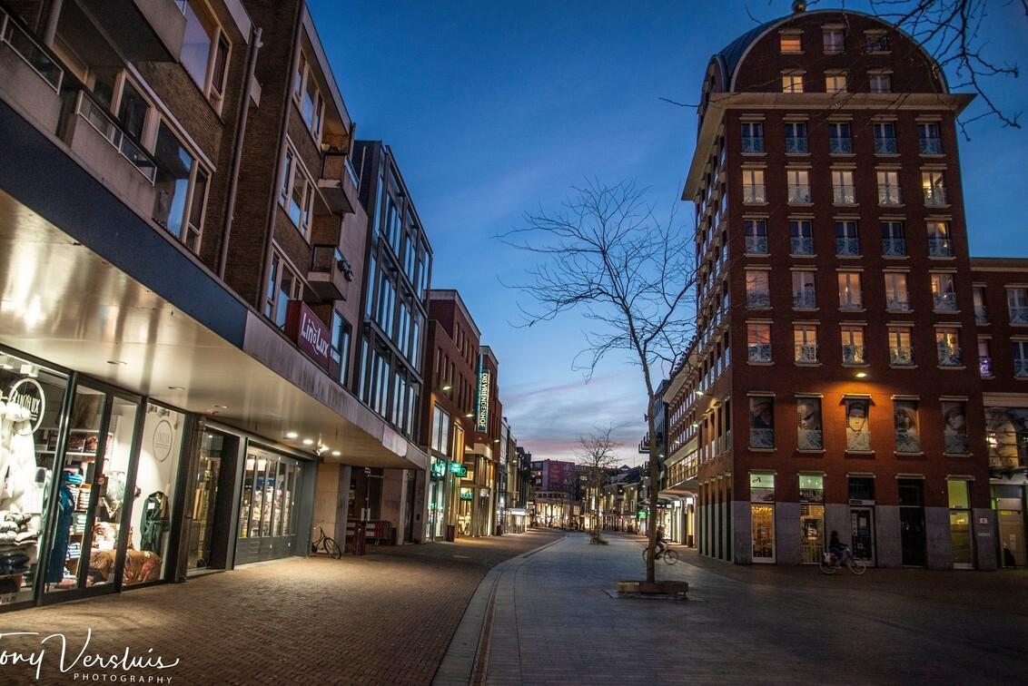 Blauw kwartiertje in Dordrecht - Sarisgang, Dordrecht - foto door TonyV op 24-02-2021