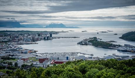 Bodø uitzicht - Noorwegen