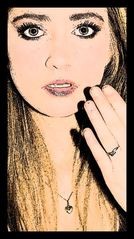 Surprised. - Oefenen met photoshop, that's all. - foto door Anne_Timmermans op 09-06-2010 - deze foto bevat: bewerkt, verbazing