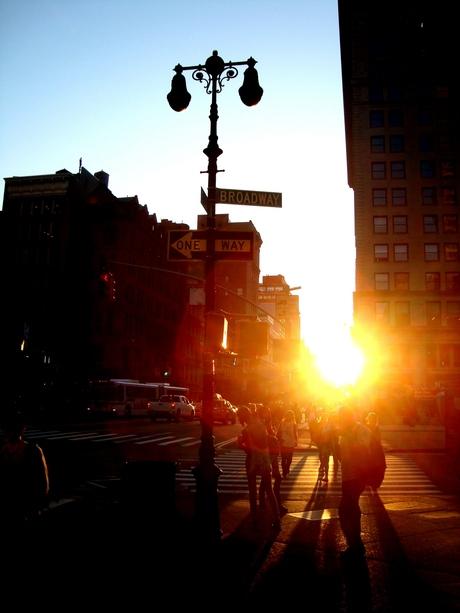 Daar gaat de zon