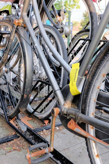 Vergeten fiets ?