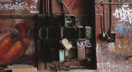 Elektriciteitskasten in Berlijn