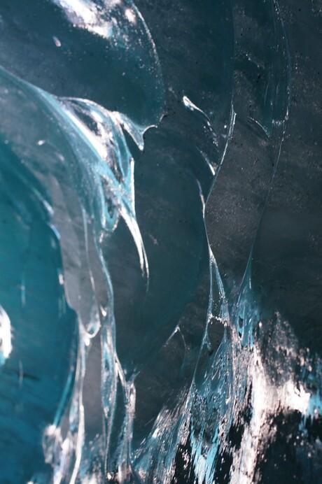 gletsjer bij Chamonix