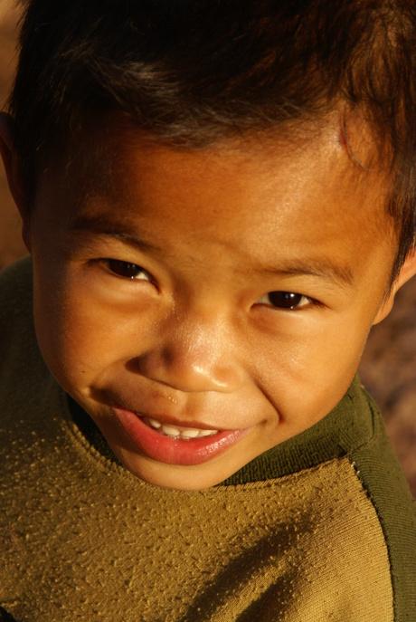 Laotiaanse glimlach