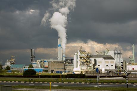 Industrie in donkere tijden